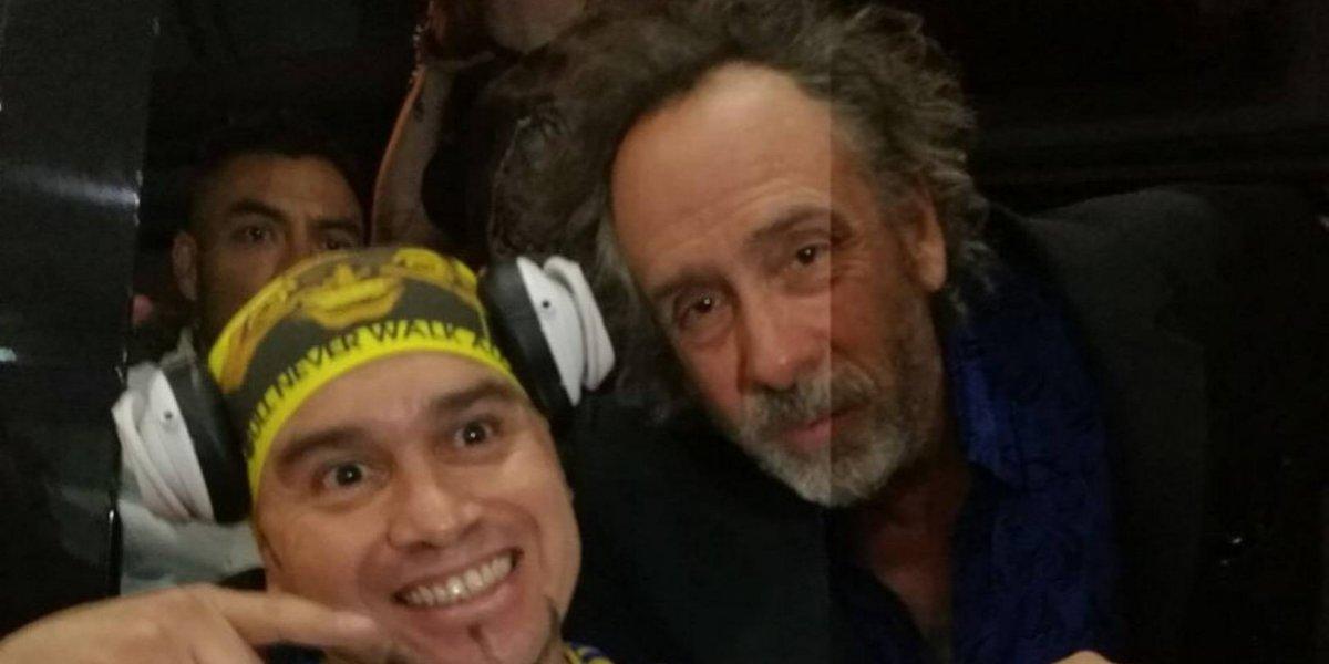 ¡Tim Burton ya está en la Ciudad de México!