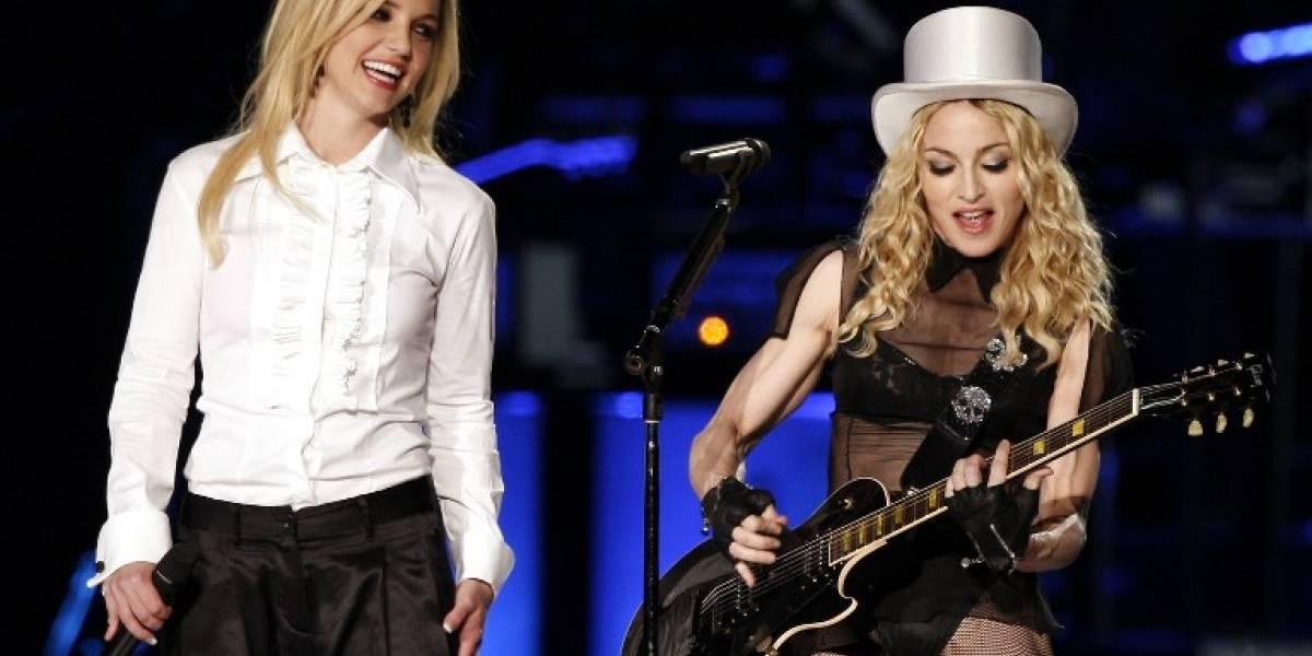 """VIDEO. Madonna celebra el cumpleaños de Britney Spears con un cover de """"Toxic"""""""