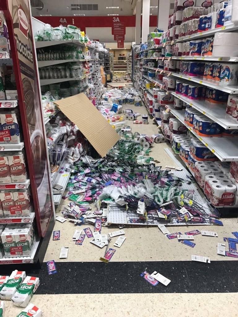 Daños estructurales tras sismo en Manabí Cortesía