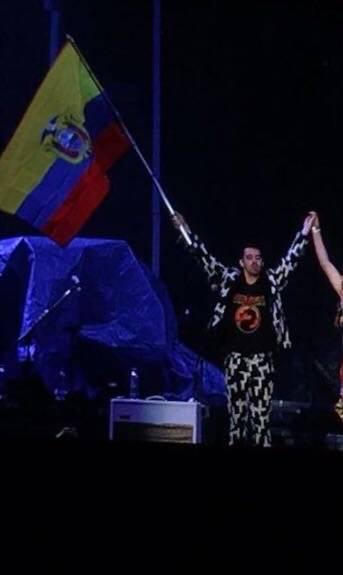 Concierto Bruno Mars en Quito METRO