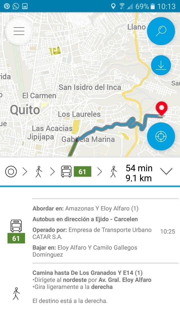 Movilízate UIO Transporte público
