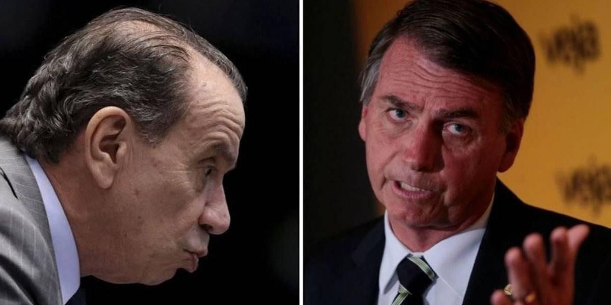 Aloysio critica e Bolsonaro responde na Rádio Bandeirantes
