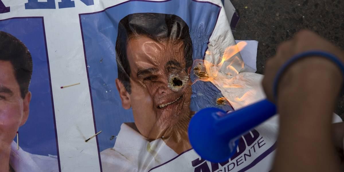 Presidente de Honduras a 'un paso' de la reelección