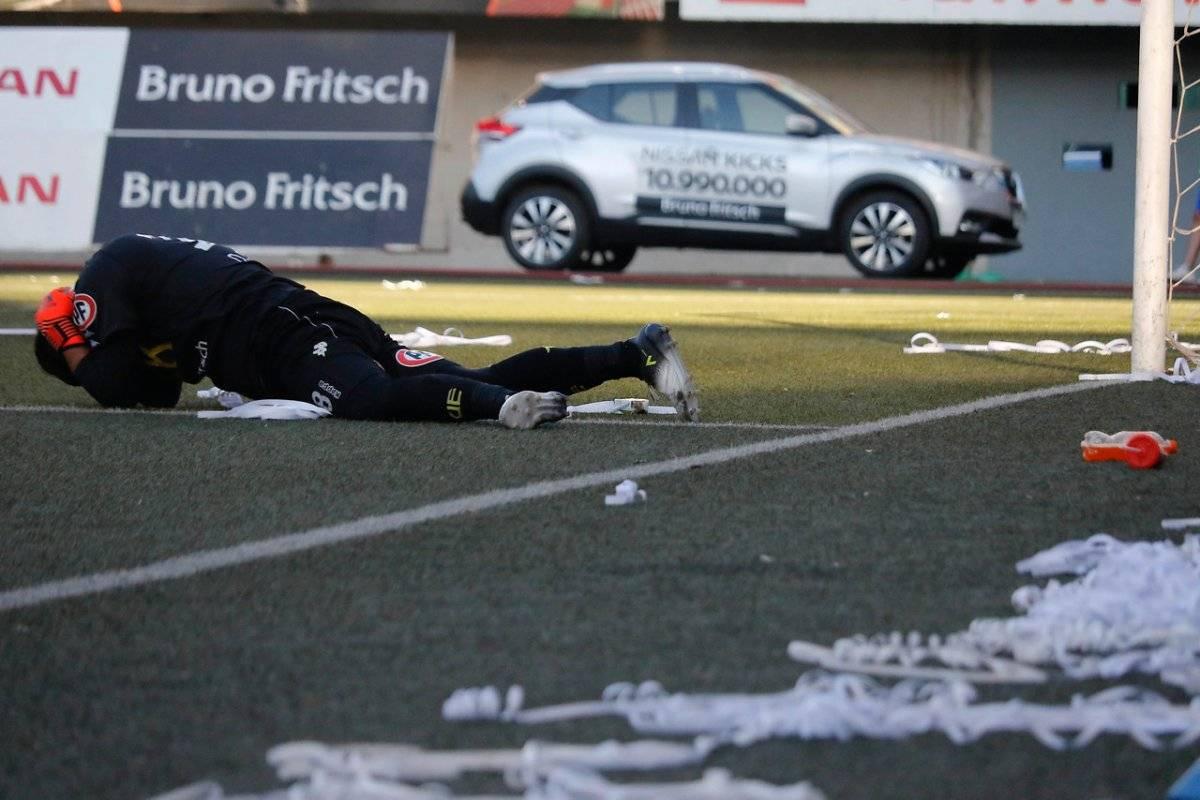 Diego Sánchez recibió un proyectil en su espalda / imagen: Agencia Uno