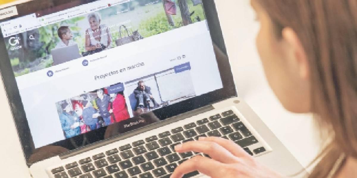 Esta plataforma entrega recompensa por aportar en proyectos sociales