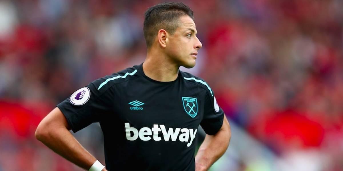 'Chicharito' vuelve a los entrenamientos con el West Ham