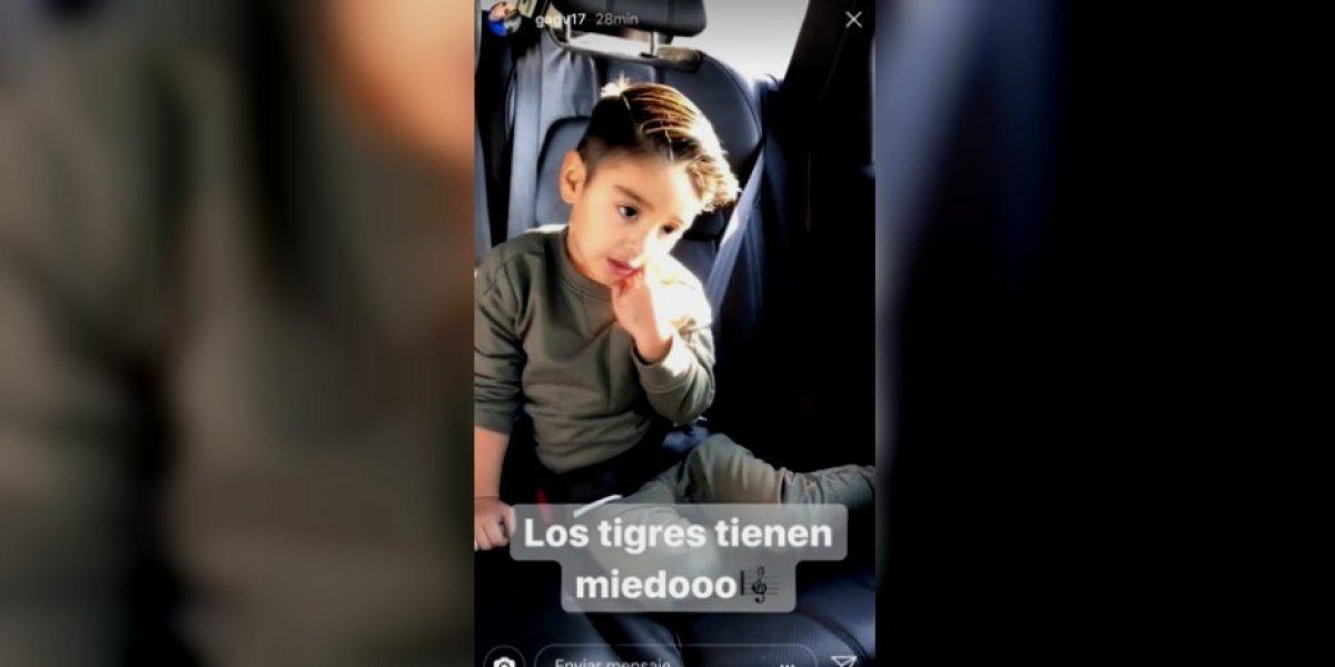 'Los Tigres tienen miedo': hijo de Tecatito Corona