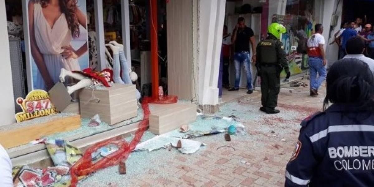 Por descuentos en una tienda de ropa 13 personas resultaron heridas