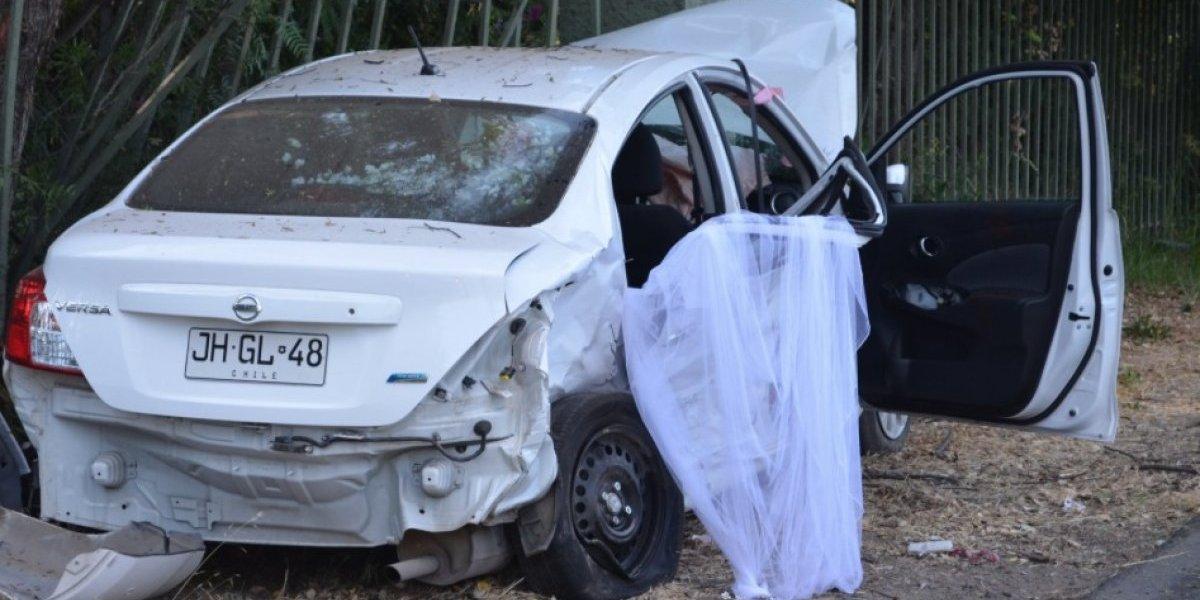 Bodas de sangre: novia de Pirque fue intervenida y se encuentra fuera de peligro vital