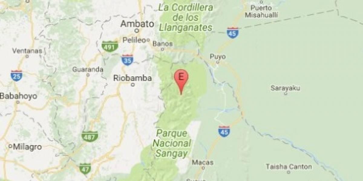 Sismo se registró este lunes en Chimborazo