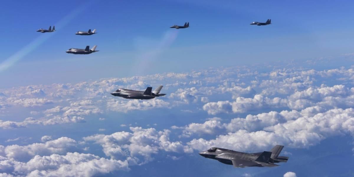 """""""Provocación total"""": Estados Unidos y Corea del Sur lanzan su mayor ejercicio aéreo conjunto"""
