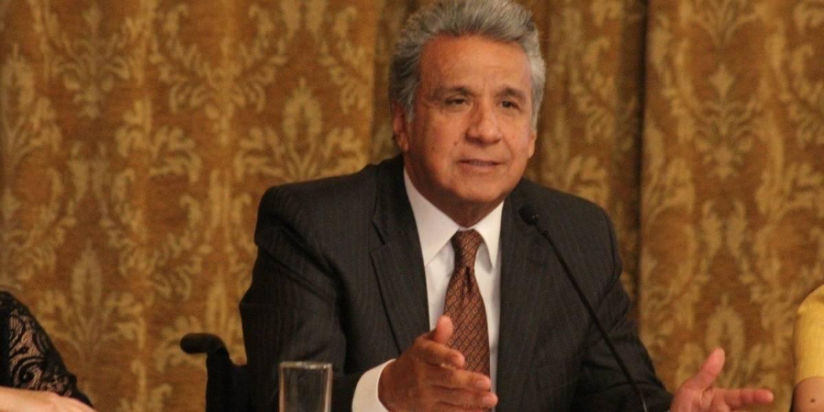Lenín Moreno ratifica apoyo a Quito durante sesión por fundación
