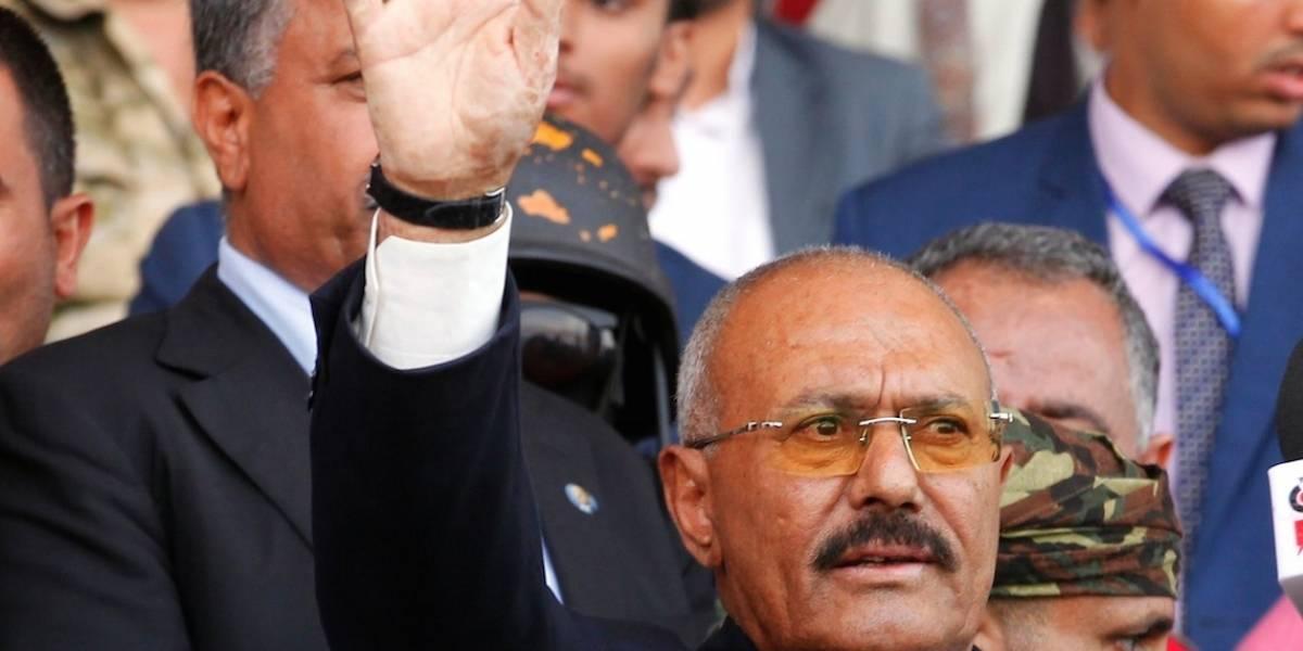 Gobierno rebelde yemení anuncia la muerte de expresidente Ali Abdalá Saleh