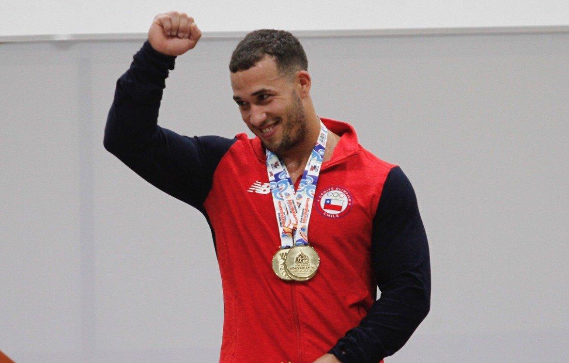Arley Méndez, campeón del mundo en levantamiento de pesas