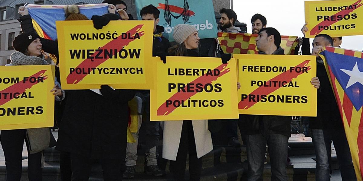 Niegan libertad a cuatro ex líderes catalanes