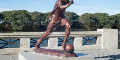 Estatua de Messi