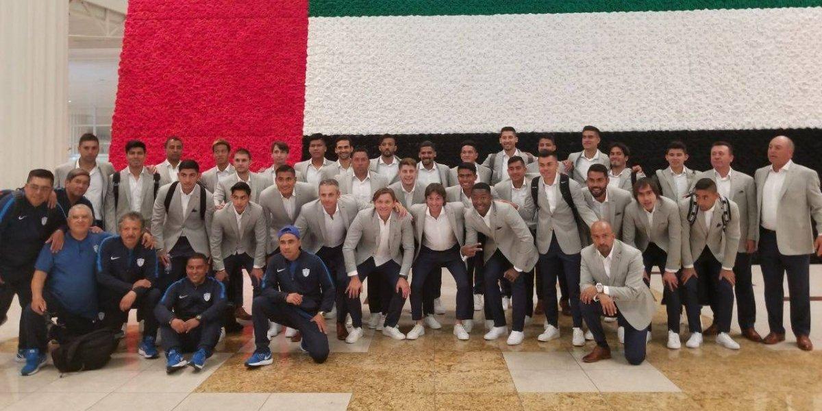 Pachuca llega a Dubái para el Mundial de Clubes