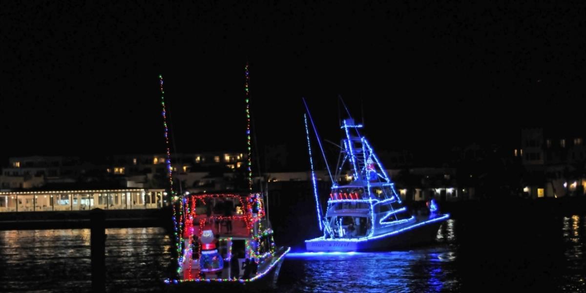 La Marina de Cap Cana enciende la Navidad con desfile de lanchas