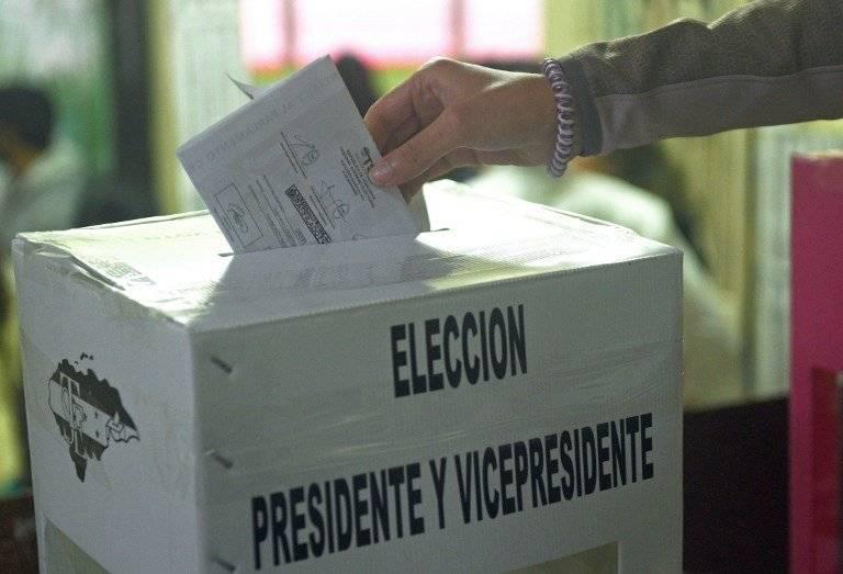 Votaciones en Honduras