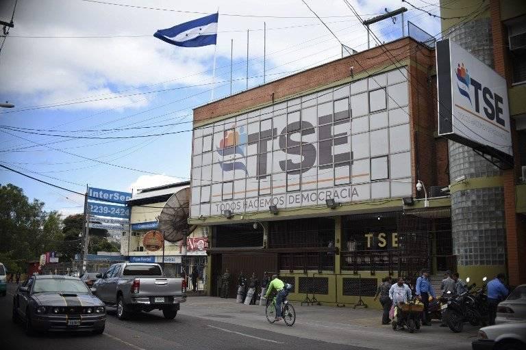 Tribunal Supremo Electoral en Honduras