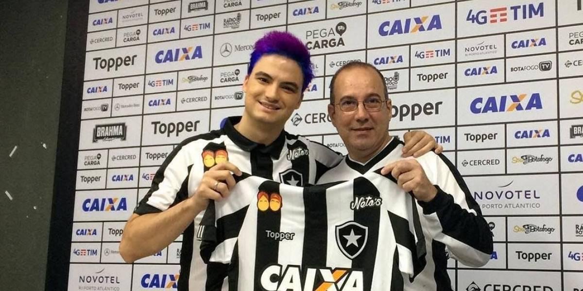 Patrocinador, Felipe Neto detona jogadores do Botafogo
