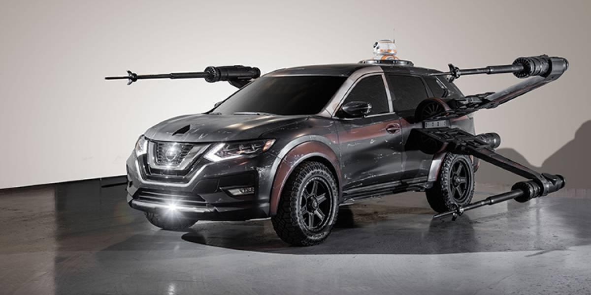 La fuerza acompaña a Nissan: exhibe seis modelos inspirados en Star Wars