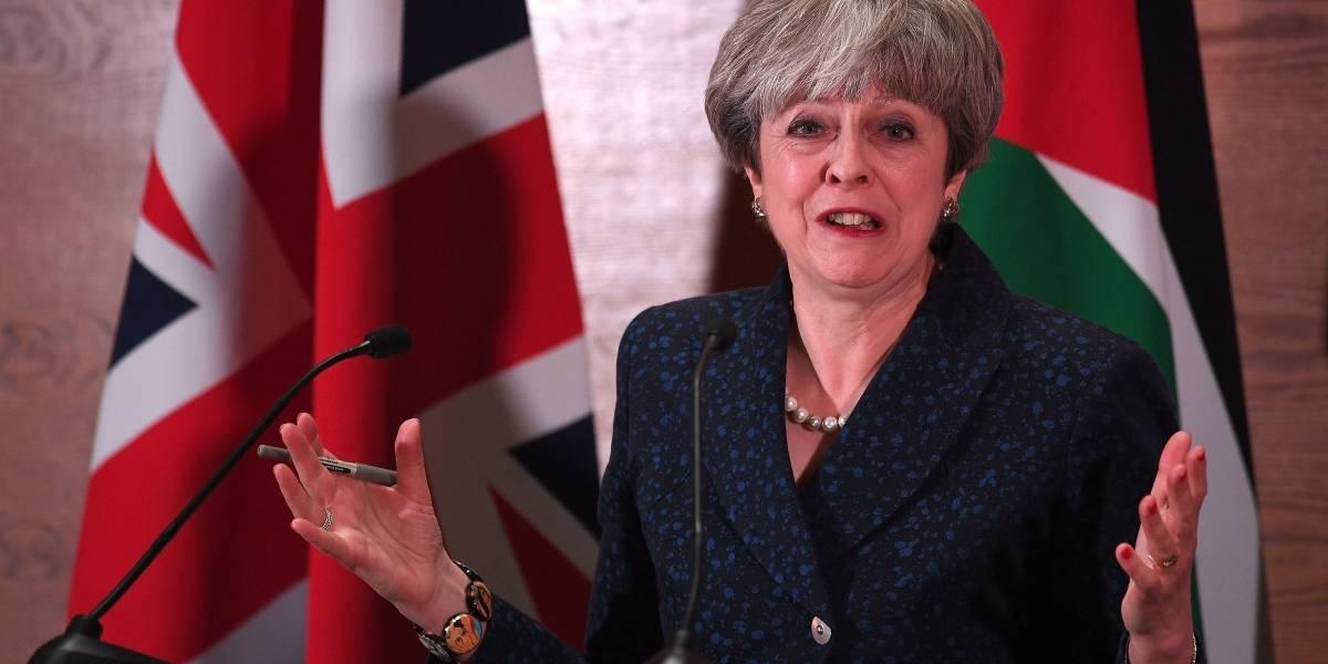 Theresa May busca destrabar las negociaciones sobre el Brexit