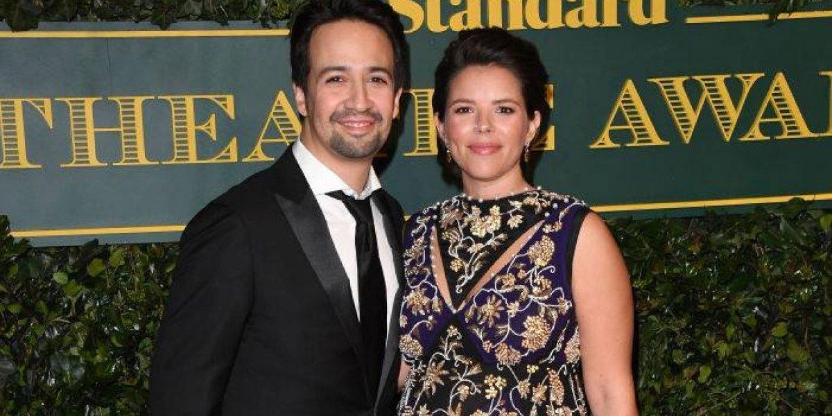 Lin-Manuel y su esposa serán padres por segunda vez