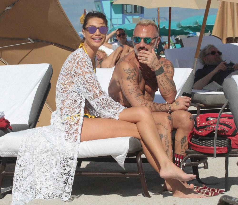 Gianluwa Vacchi novia