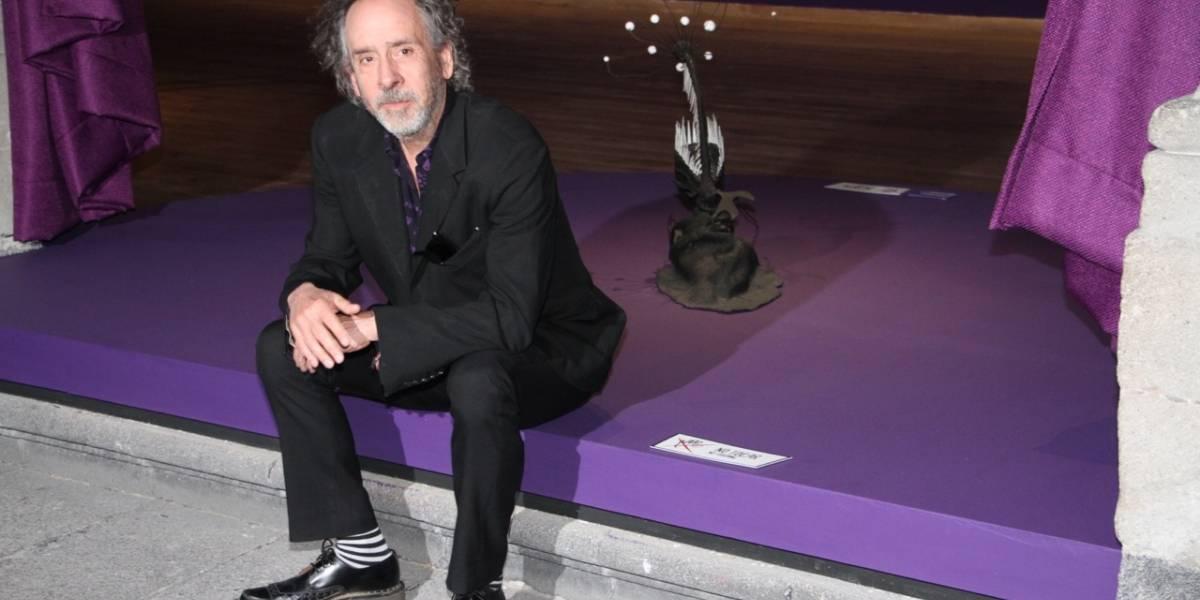 Tim Burton espera que exposición sobre su trabajo aliente a artistas mexicanos