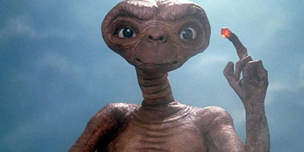 La historia original de la película 'E.T.'