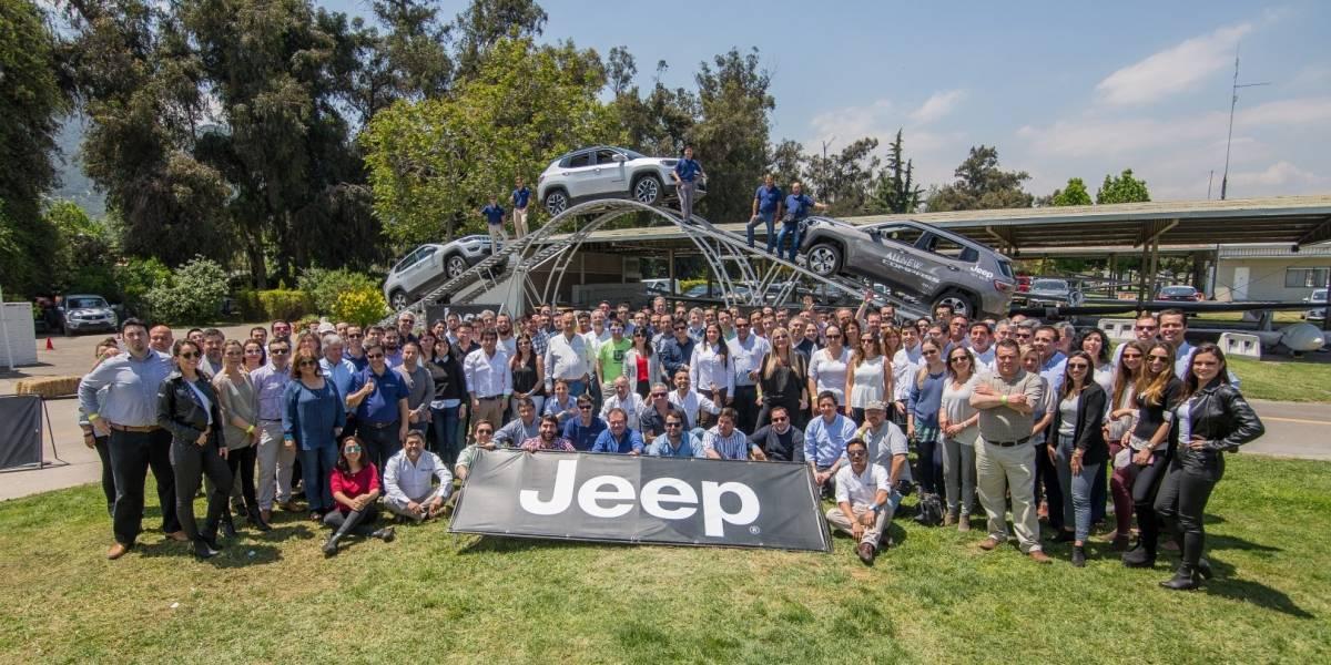 La fuerza de ventas de Jeep se especializa en el Compass