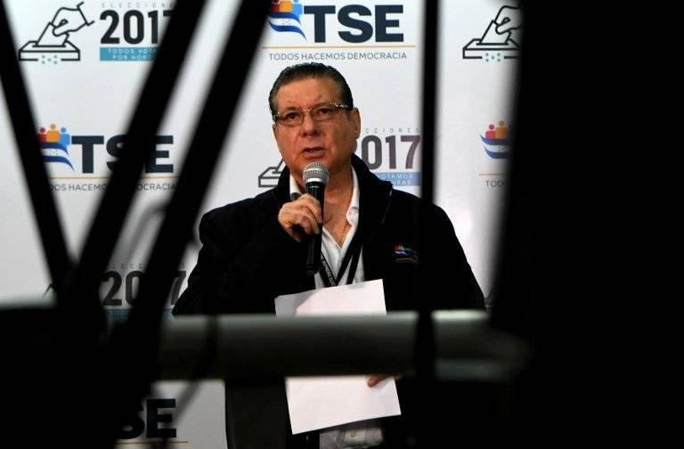 David Matamoros, presidente del Tribunal Supremo Electoral de Honduras