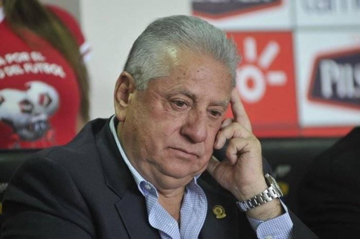 Luis Chiriboga, expresidente de la FEF EFE