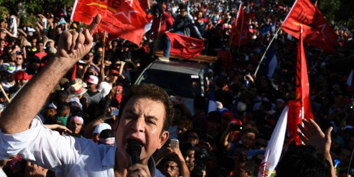 Opositor Nasralla desconoce resultado electoral en Honduras