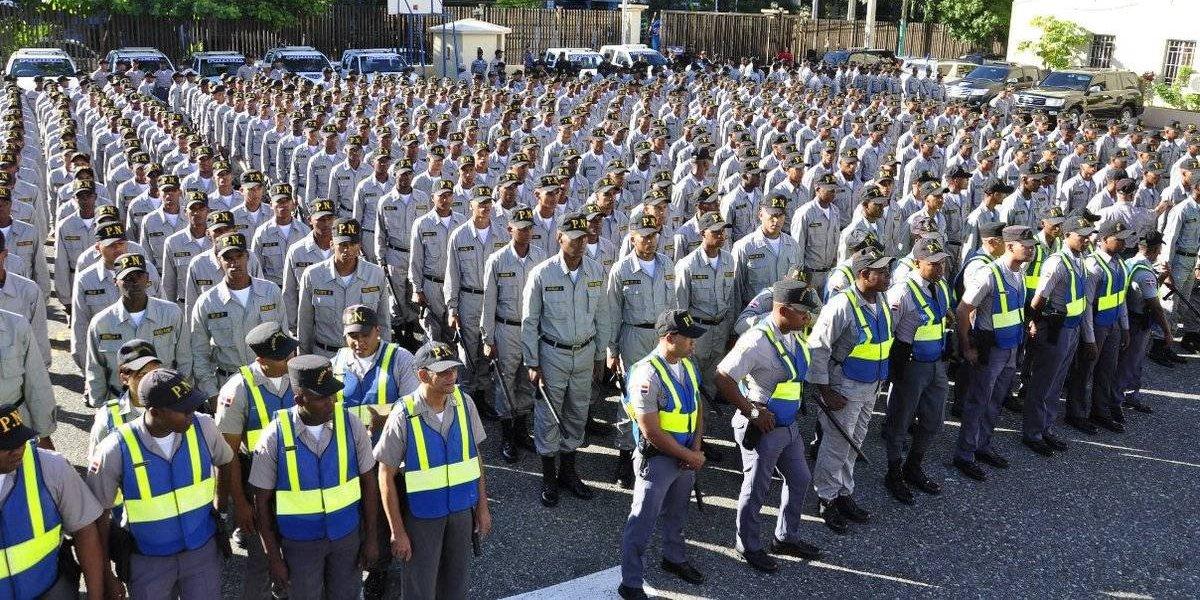 26 mil agentes saldrán a las calles por seguridad