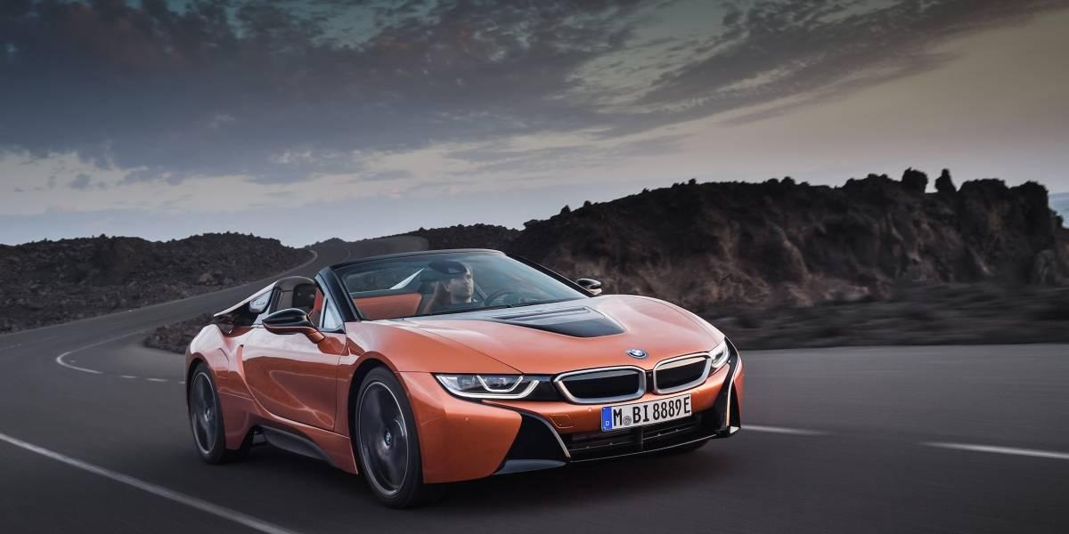 Con su versión descapotable, el BMW i8 pretende seguir marcando tendencia