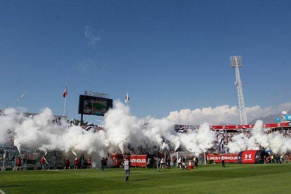 El Estadio Monumental celebró el triunfo de Colo Colo / imagen: Photosport