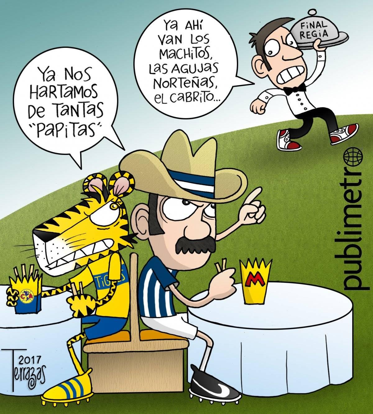 Tigres y Monterrey a la Final
