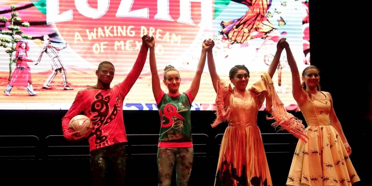 "Cirque du Soleil se enamora de México con ""Luzia"""