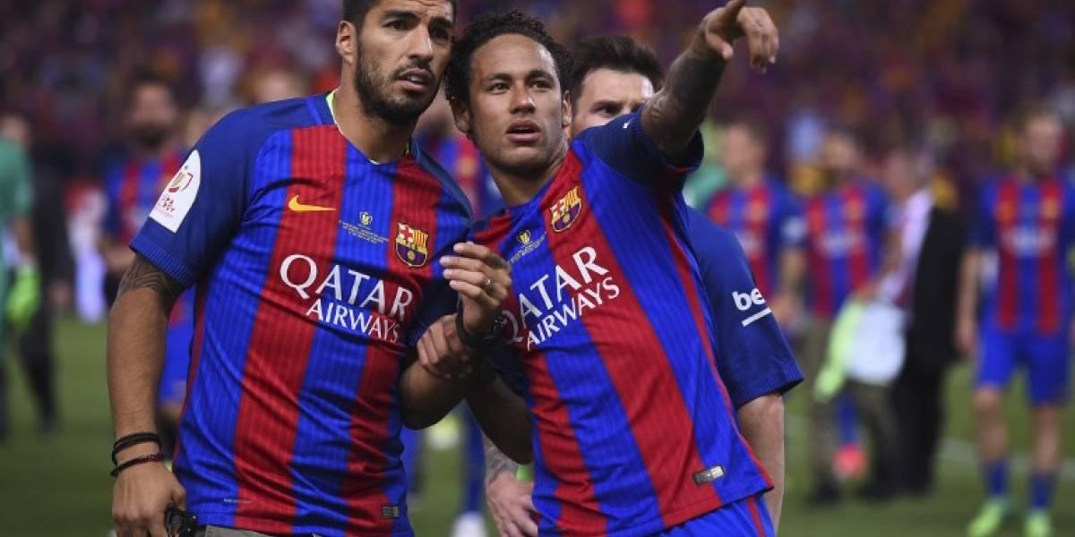 Suárez rompe el silencio sobre el posible fichaje de Neymar por el Madrid