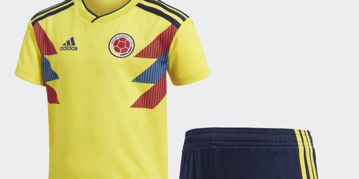 Los posibles uniformes de la Selección Colombia en sus tres partidos del Mundial
