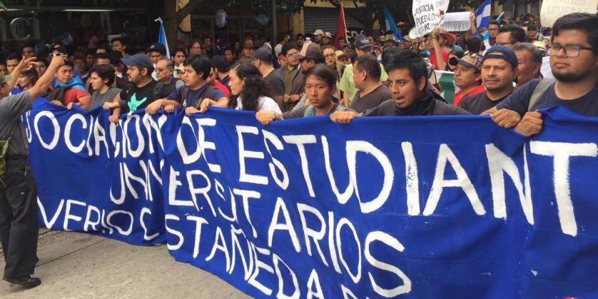 """AEU convoca a """"plantón por la dignidad de Honduras"""""""