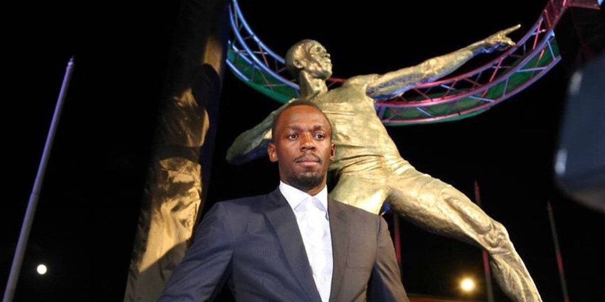 Usain Bolt es inmortalizado en el Estadio Nacional de Jamaica