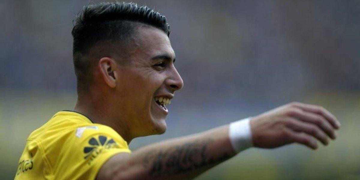 """""""Tiene cosas de Alexis Sánchez"""": Barros Schelotto está maravillado con la promesa de Boca"""
