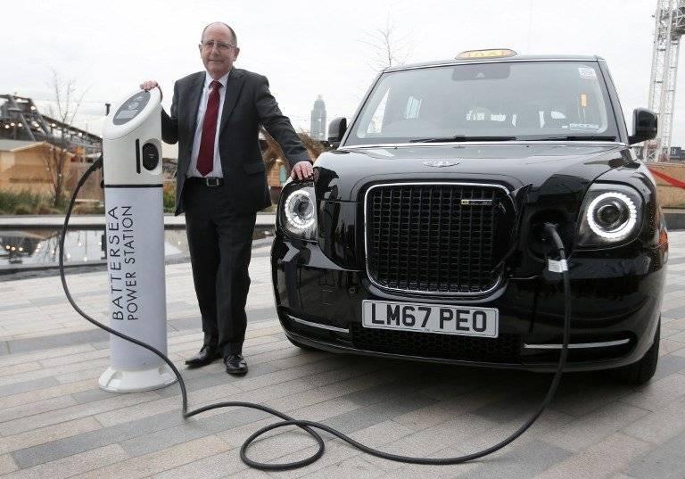 Taxis eléctricos en Londres