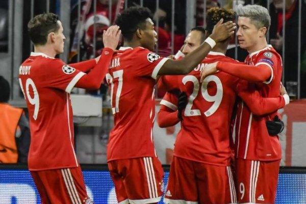 Bayern Munich celebró ante un PSG que estaba imparable / imagen: AFP