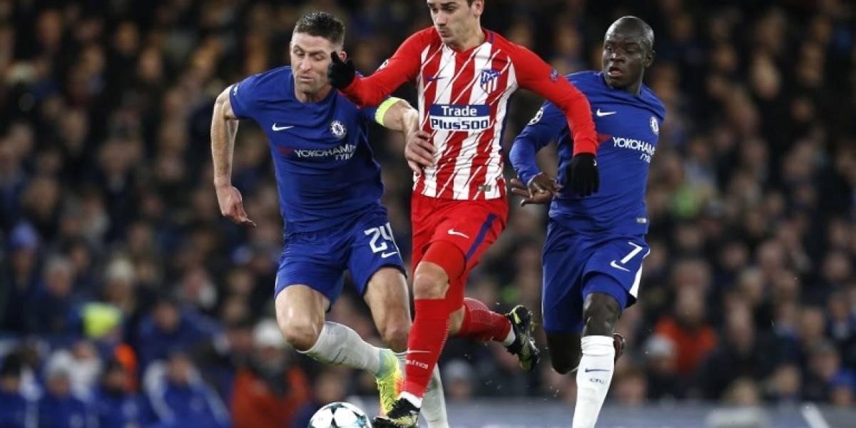 Minuto a minuto: Atlético de Madrid visita a Chelsea con la desesperación de ganar