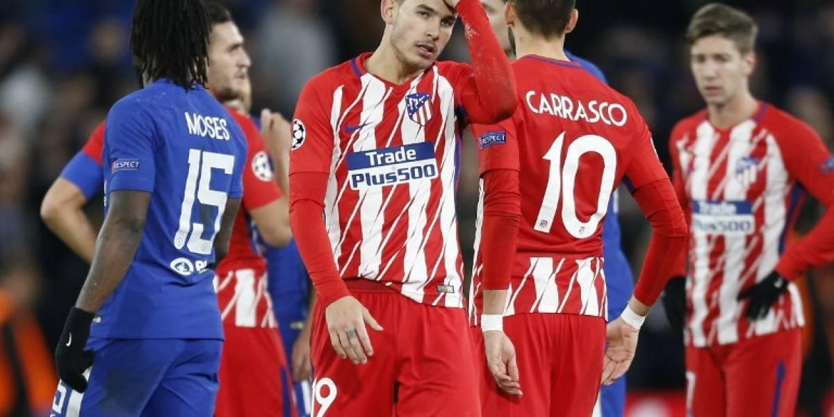 Atlético no pudo hacer el milagro y quedó eliminado de la Champions League