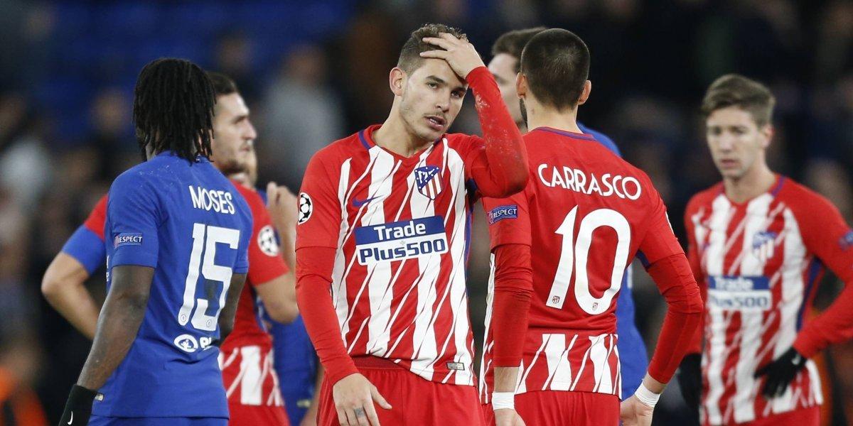 El Atlético de Madrid se quedó esperando el milagro